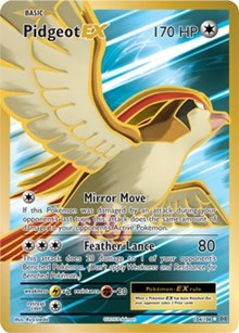 Pidgeot EX (Full Art) (104) [XY - Evolutions] | LA Mood Comics and Games