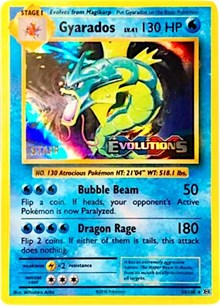 Gyarados (XY Evolutions Staff Prerelease) (34) [XY Promos] | LA Mood Comics and Games