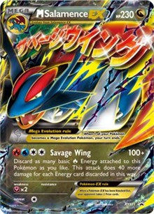 M Salamence EX - XY171 (XY171) [XY Promos] | LA Mood Comics and Games
