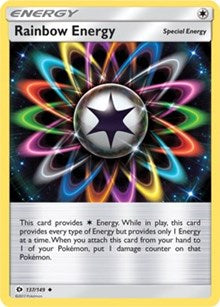 Rainbow Energy (137) [SM Base Set] | LA Mood Comics and Games