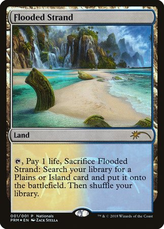 Flooded Strand [Nationals Promos] | LA Mood Comics and Games