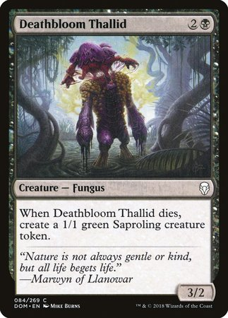 Deathbloom Thallid [Dominaria] | LA Mood Comics and Games
