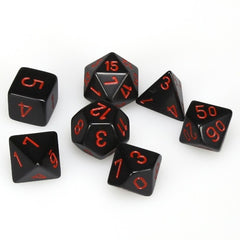 Chessex: Polyhedral Opaque™Dice Sets (7pc) | LA Mood Comics and Games