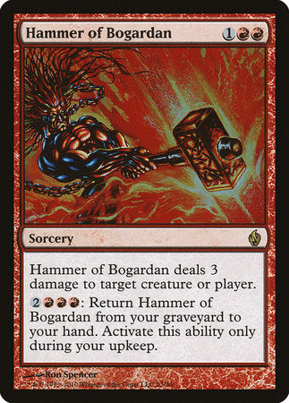 Hammer of Bogardan [Premium Deck Series: Fire and Lightning] | L.A. Mood Comics and Games