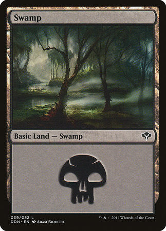 Swamp (39) [Duel Decks: Speed vs. Cunning] | L.A. Mood Comics and Games