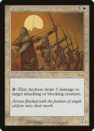 Elite Archers [Urza's Saga] | L.A. Mood Comics and Games