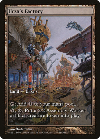 Urza's Factory [Champs and States] | L.A. Mood Comics and Games