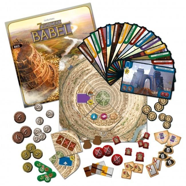 7 Wonders Babel Expansion | LA Mood Comics and Games