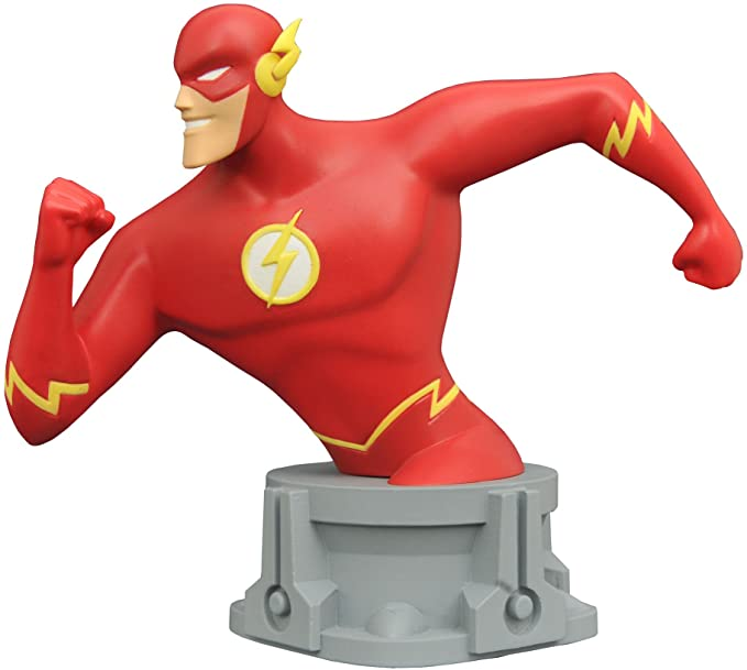 Flash Resin Bust SDCC 2017 Exclusive DC Justice League Animated | LA Mood Comics and Games