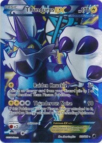 Thundurus EX (Team Plasma) (110 Full Art) (110) [Plasma Freeze] | LA Mood Comics and Games