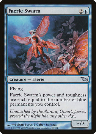Faerie Swarm [Shadowmoor] | L.A. Mood Comics and Games