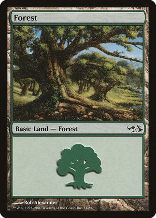 Forest (31) [Duel Decks: Elves vs. Goblins] | L.A. Mood Comics and Games