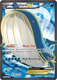 Wailord EX (147 Full Art) (147) [XY - Primal Clash] | LA Mood Comics and Games