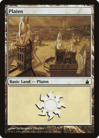 Plains (288) [Ravnica: City of Guilds] | L.A. Mood Comics and Games
