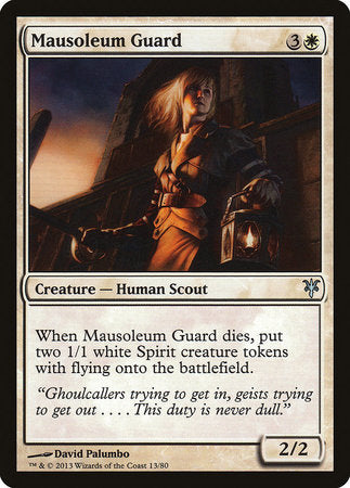 Mausoleum Guard [Duel Decks: Sorin vs. Tibalt] | L.A. Mood Comics and Games