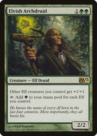 Elvish Archdruid [Magic 2012] | L.A. Mood Comics and Games