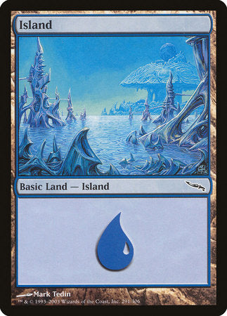 Island (291) [Mirrodin] | L.A. Mood Comics and Games