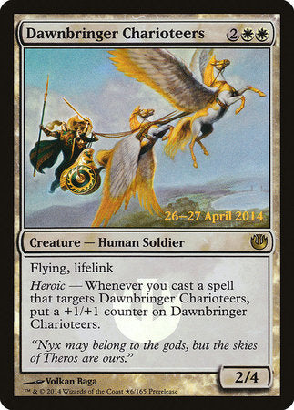 Dawnbringer Charioteers [Journey into Nyx Promos] | L.A. Mood Comics and Games