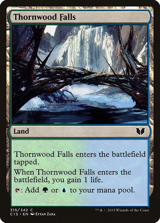 Thornwood Falls [Commander 2015] | L.A. Mood Comics and Games
