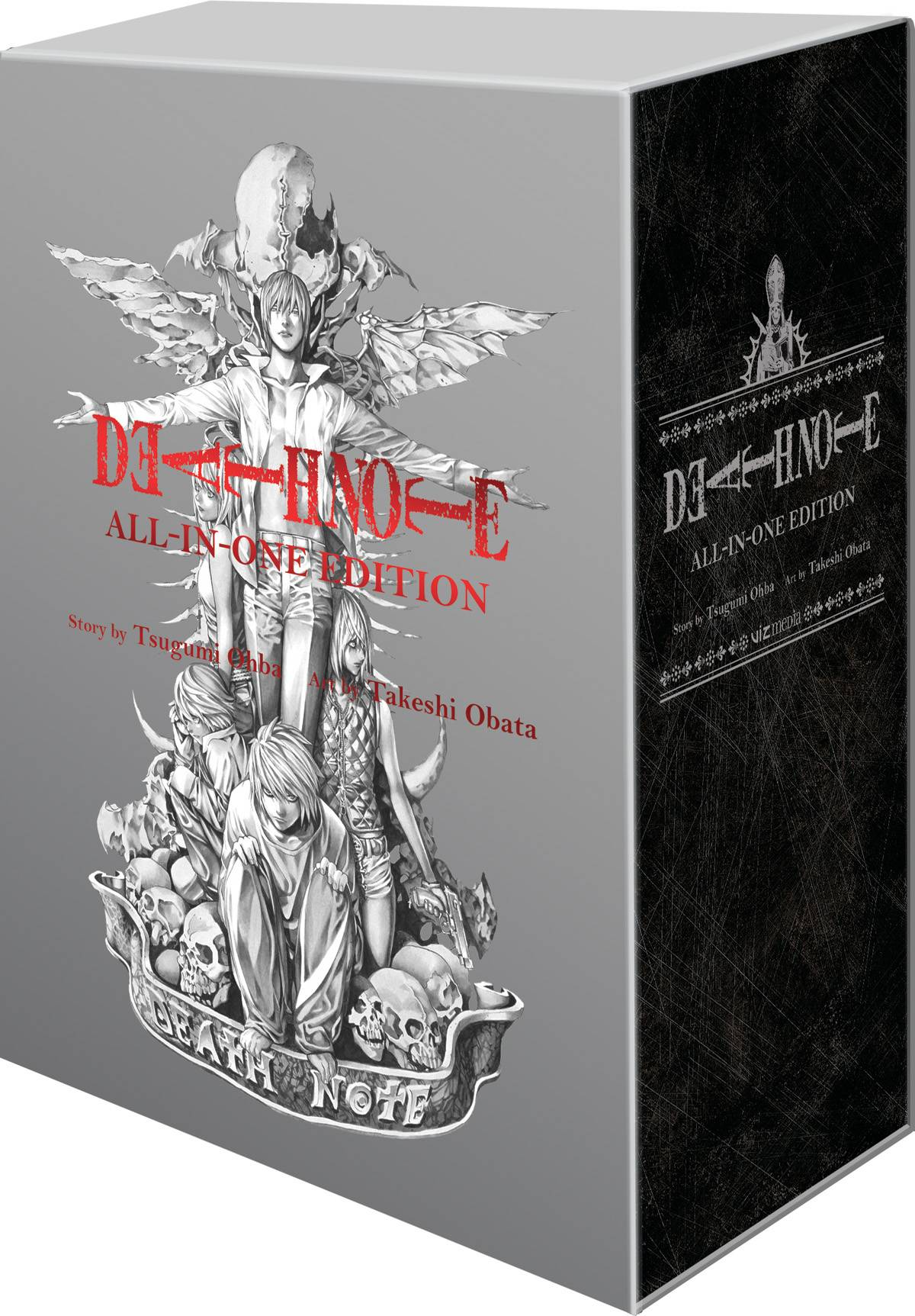 DEATH NOTE SLIPCASE GN ALL IN ONE EDITION (C: 1-0-1) | L.A. Mood Comics and Games