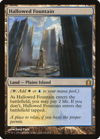 Hallowed Fountain [Return to Ravnica] | L.A. Mood Comics and Games