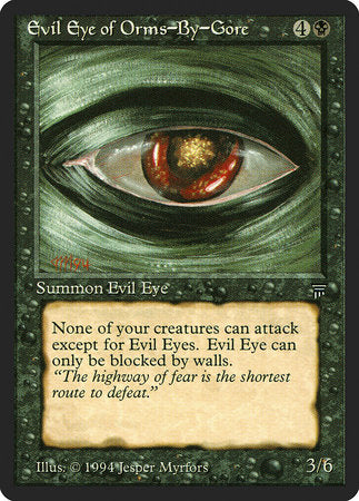 Evil Eye of Orms-By-Gore [Legends] | L.A. Mood Comics and Games