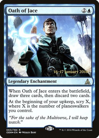 Oath of Jace [Oath of the Gatewatch Promos] | L.A. Mood Comics and Games