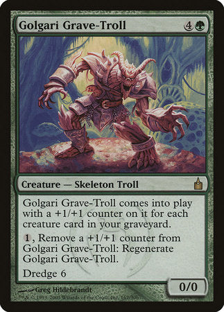 Golgari Grave-Troll [Ravnica: City of Guilds] | LA Mood Comics and Games