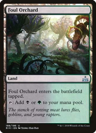 Foul Orchard [Rivals of Ixalan] | L.A. Mood Comics and Games