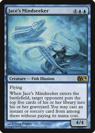 Jace's Mindseeker [Magic 2014] | LA Mood Comics and Games