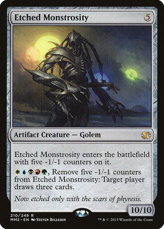 Etched Monstrosity [Modern Masters 2015] | LA Mood Comics and Games