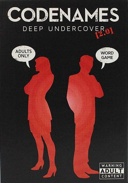 Codenames: Deep Undercover 2.0 | L.A. Mood Comics and Games