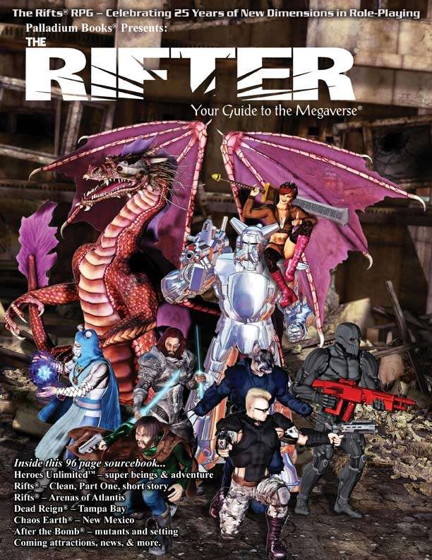Rifter #69 Palladium RPG Sourcebook SC NEW PAL 169 | L.A. Mood Comics and Games
