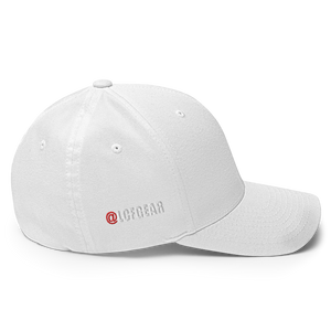 Warrior Angels Foundation Closed Back Clear Logo White Hat