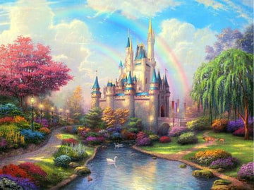 Princess Kingdom - 5D Diamond Painting Kit