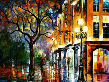 Colours in the Rain - 5D Diamond Painting kit