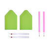 Diamond Painting tools - two trays, two pens, two tweezers