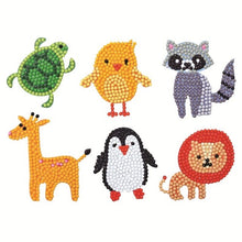 Zoo Animals - Diamond Painting Sticker