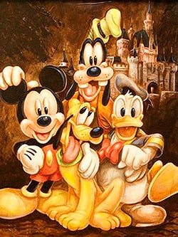 Mickey Mouse Set Item #3 - 5D Diamond Painting Kit