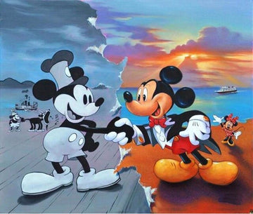 Mickey Mouse #7- 5D Diamond Painting Kit
