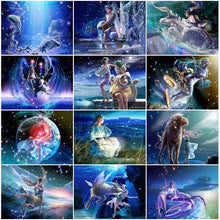 Starsign Pisces Fairy Zodiac Collection - 5D Diamond Painting Kit