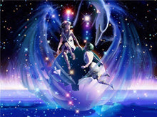 Starsign Gemini Fairy Zodiac Collection - 5D Diamond Painting Kit