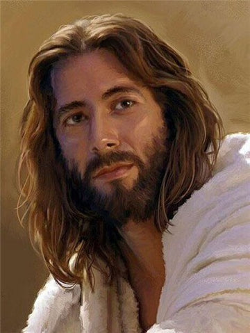 Painting of Jesus - 5D Diamond Painting Kit