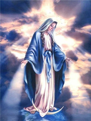 Virgin Mary - 5D Diamond Painting Kits