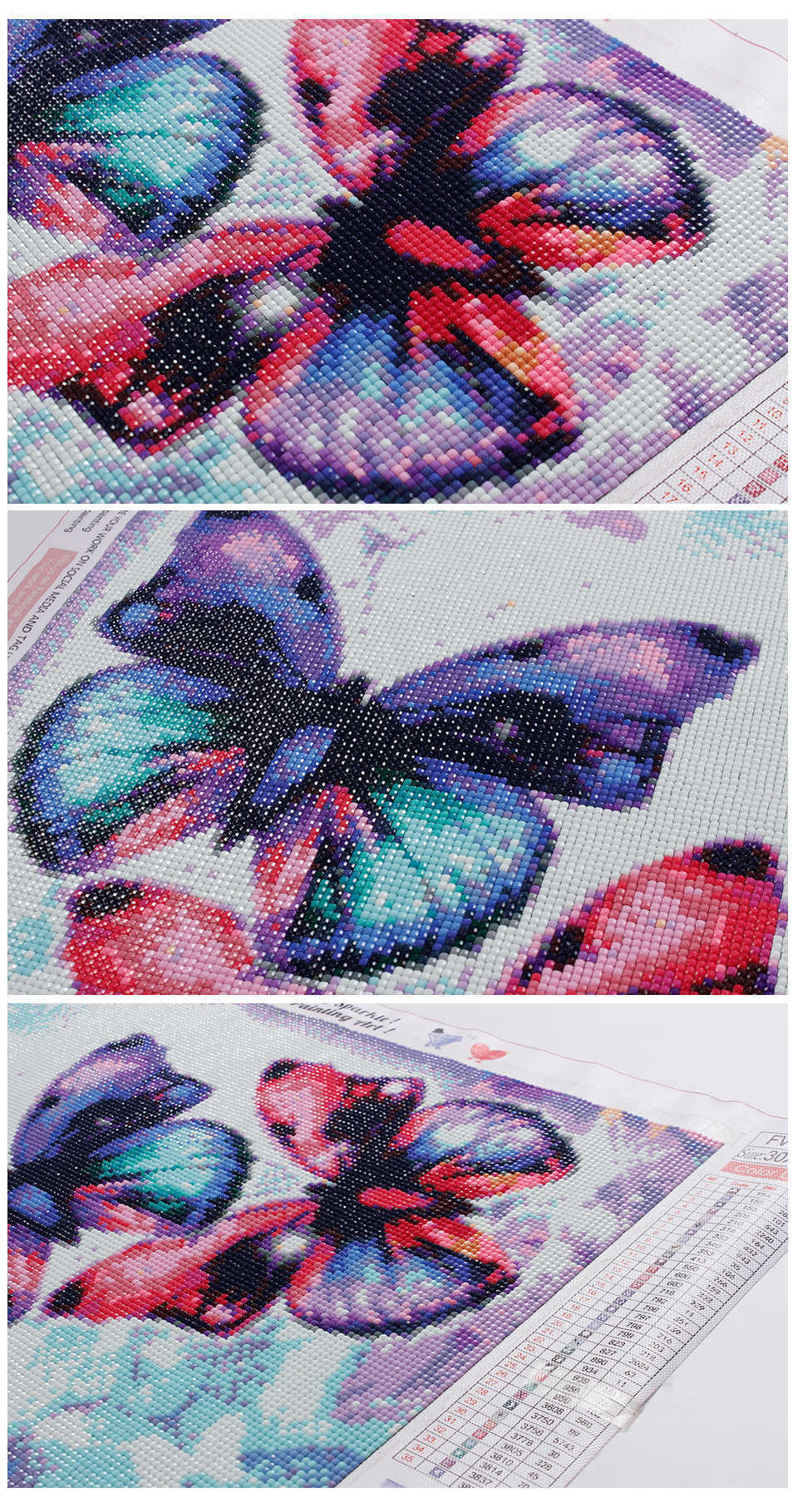 Colourful Butterfly Collection #9 - Diamond Painting Kit
