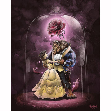 Princess Beauty & The Beast Art - 5D Diamond Painting