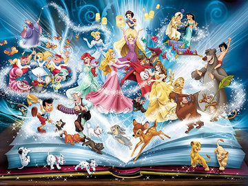 Disney Book Characters - 5D Diamond Painting Kits