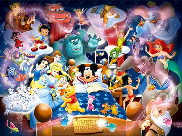 Disney Dreaming - 5D Diamond Painting Kit
