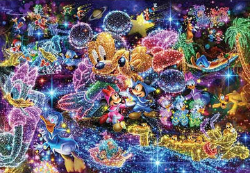 Glowing Disney - Diamond Painting kit