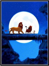 Lion King #3 - 5D Diamond Painting Kit
